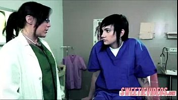 pornhubgay Lesbian Doctor and patient mature young girl on girl