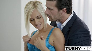 boobgoddess TUSHY Hot Secretary Kate England Gets Anal from Client