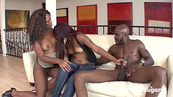 nalgasclub Coffee Brown & Natalie Evans Share Some Black Daddy Dick