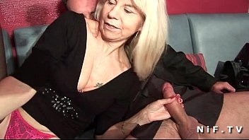bigle ru French mature in stockings gets double prated in a swinger club
