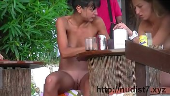 putalocura Stunning tanned babes are all over that nudist beach