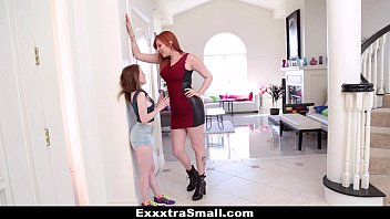 kinkshed ExxxtraSmall - Teeny Teen Fucked With Strap-On By Tall Busty Lauren Phillips