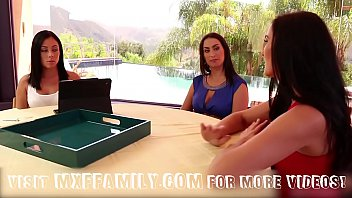 nurxxxmobi Step Daughters and Mom Fuck in 3some
