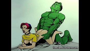 sextop Famous cartoon superheroes porn parody