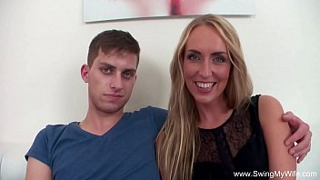 mylked Blonde Wife Fucks BBC For Hubby
