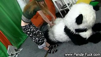 milf31 Fetish teen getting off with toy panda