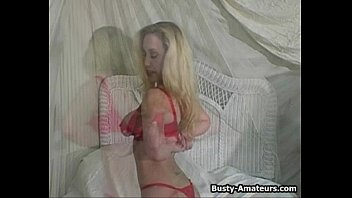 transangels Busty Cheri strips and playing her pussy