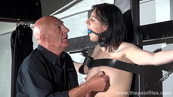 streepchat Gagged slave Honesty Cabelleros erotic domination and nipple tortures of brt