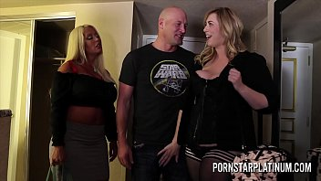 hqporner MILFs Alura Jenson and Lila Lovely fucking a fan
