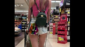 xxsx Petite Babe Haley Reed Flashes Tits in Grocery Store then Fucks You &lparPOV&rpar
