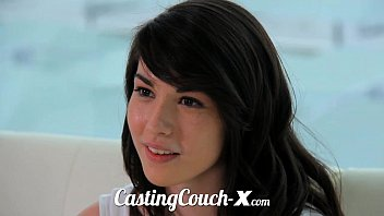 24video Casting Couch-X High school sweethearts start in porn