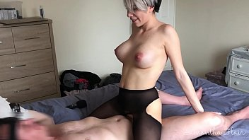 missalice94 Lesbian takes first real cock - Samantha Flair