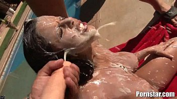sexxxx Diamond Kitty Getting Some Maximum Bukakke Facial