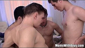 holafreex Stepmama Anal DP GangBang Son And Friends