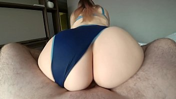 chatburate Girl with a big ass jumps on a dick