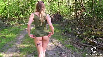 streamsex Amazing teen with big ass gets fucked in the forest &vert POV Fiona Fuchs