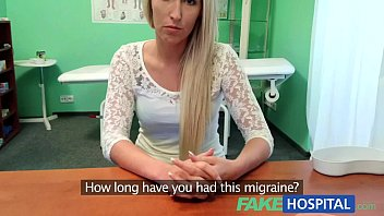 xvedio FakeHospital Blonde womans headache cured by cock and her squirting wet pussy