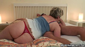 bijukubo Horny granny seduces him but wife finds out