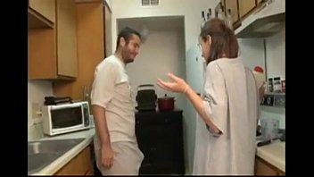 xxxnx ZGV Brother And Sister Blowjob In The Kitchen 08 M