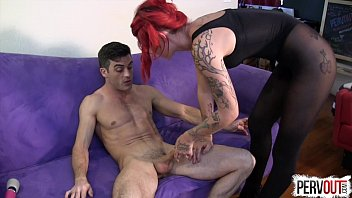 pornub Ariel Kay Roommate Control with Lance Hart PANTYHOSE EDGING FEMDOM