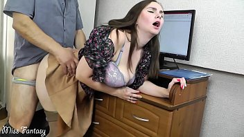wwwbeeg Wife cheating on husband at work with the boss