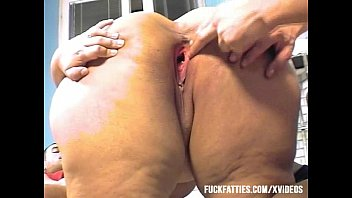 spankbang Fat Lady Gets Two Cock Fucking In The Kitchen