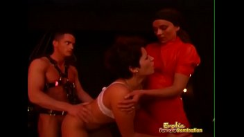 pornub Mistress and her slave couple in exciting session