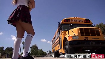 menatplay DigitalPlayground - &lparJake Jacema Natalie Monroe&rpar - The School Bus