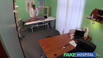 Fake Hospital G spot massage gets hot brte patient wet