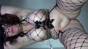 veporn Bbw huge tit wife fucked and creampied&solview from below&solhuge swinging tits and dripping creampie