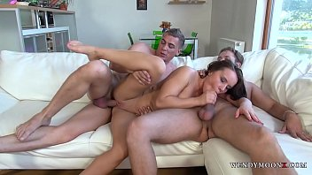 pornvore Brte Hooker Vs Two Guys Willing to Open her Ass Hole