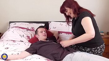 girlsway com mature mother seduces young boy