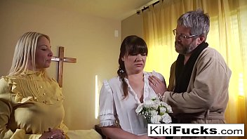theguysite New sister wife joins the family by blowing her new husband