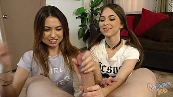 xxxyes Riley Reid and Melissa Moore Tugjob Rivalry