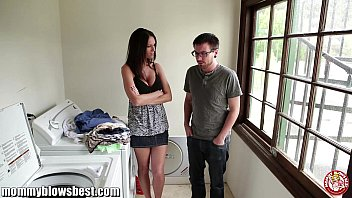 milf Jennifer Dark is offering a BJ for a young boy to leave her alone