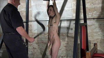 pornochapin Agony of Elise Graves in facial humiliation and extreme whipping of american sla