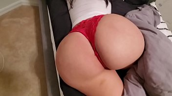 www badwap com BROTHER WAKES STEPSISTER UP & CUMS TWICE ON HER HUGE ASS