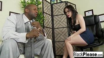 sexy7hot7 Gorgeous Jennifer receives an interracial creampie in the office