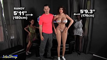 nofacegirl 176cm world tallest sex doll funny review by Jokestrap &vert Go sydolls and subscribema win free SY Sex Doll