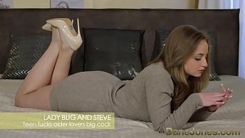 dunefeet Dane Jones Young pretty teen with perfect bubble butt takes older fat cock