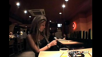 camcrush Indecent fingering at the table