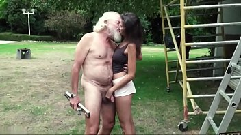 redbtube Old man plays a sex game with young girl they have super stunning sex