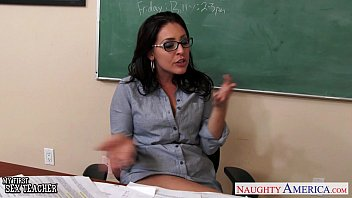 bangtour Busty teachers Gracie Glamma Kendra Lust sharing student