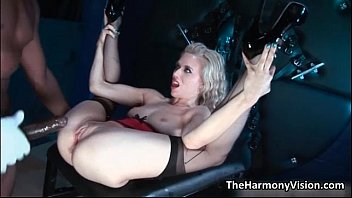 brazzes Dirty blonde whore gets her wet cunt