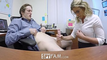 pprnhun SpyFam Step son office anal fuck with step mom Cory Chase at work