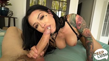 oreob4by Tattooed Babe Katrina Jade Orgasms and Begs for Creampie