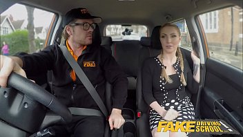 cuckoldsporn Fake Driving School Busty Blonde Georgie Lyall gets customer satisfaction