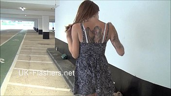 dasisex Exhibitionist madster Paige Fox flashes carparks and pleasures herself nude in p