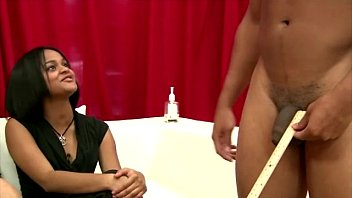 xhmaster Cfnm femdoms watch pathetic guy jerking off