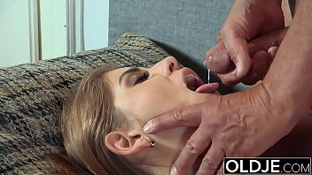 desibaba Pretty Young Girl Mouthful Of Cum And Anal Sex With Grandpa Cock